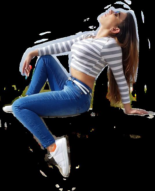 #free #fashion #sporty #white #jeans #stripes