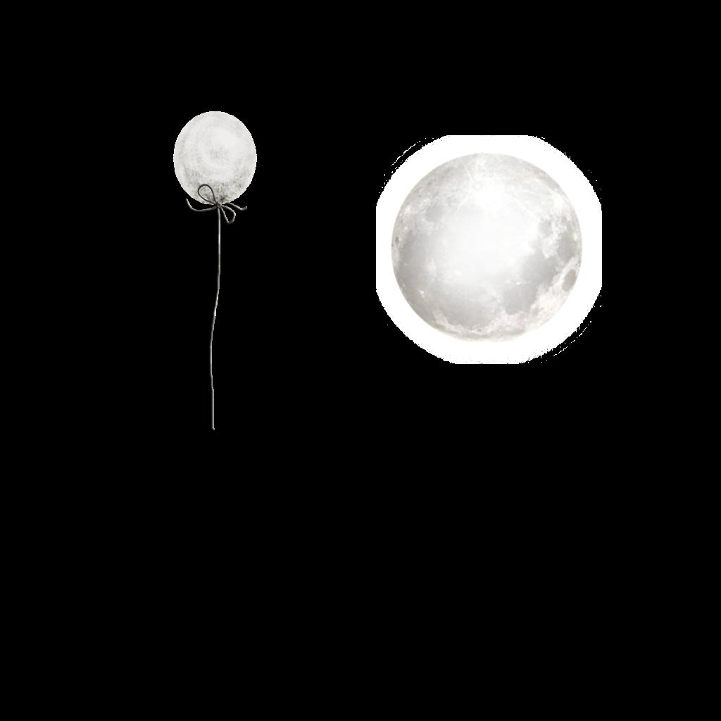 #ballon#moon