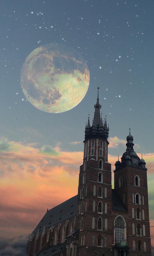 #freetoedit #krakow #poland #night #architecture