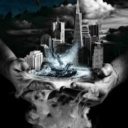 freetoedit sky gir smok hand