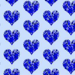 freetoedit bluehearts hearts patterns wallpapers