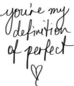 perfect handwritten heart cool love