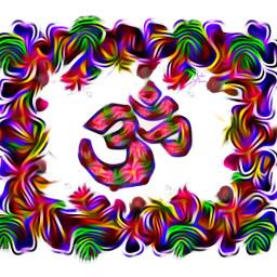 ohm sign selfdesign ohmsign spiritual freetoedit