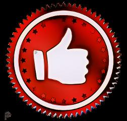 button red like quality picsartpassion_de