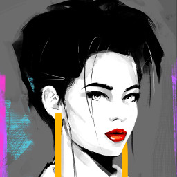 punksy artist painter illustrator drawing