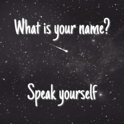 speakyourself