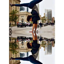 ecmirroreffect mirroreffect handstand upsidedown gymnast