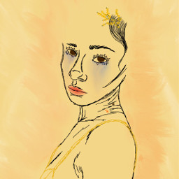 art myart drawing mydrawing yellow freetoedit