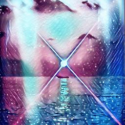 freetoedit lightflare water galaxy loveit