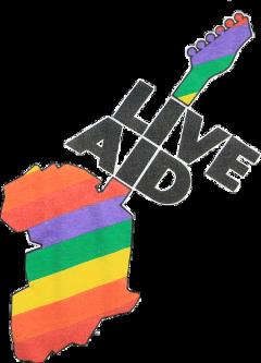 live aid liveaid 80s sticker