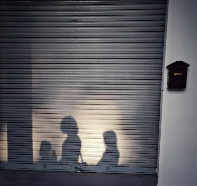 Family Shadow #shadow #walking #friday #family