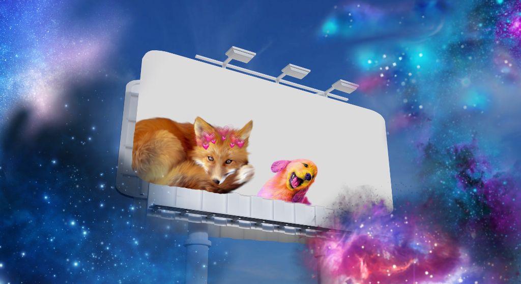 @picsart my 🆒 galaxy animals #freetoedit