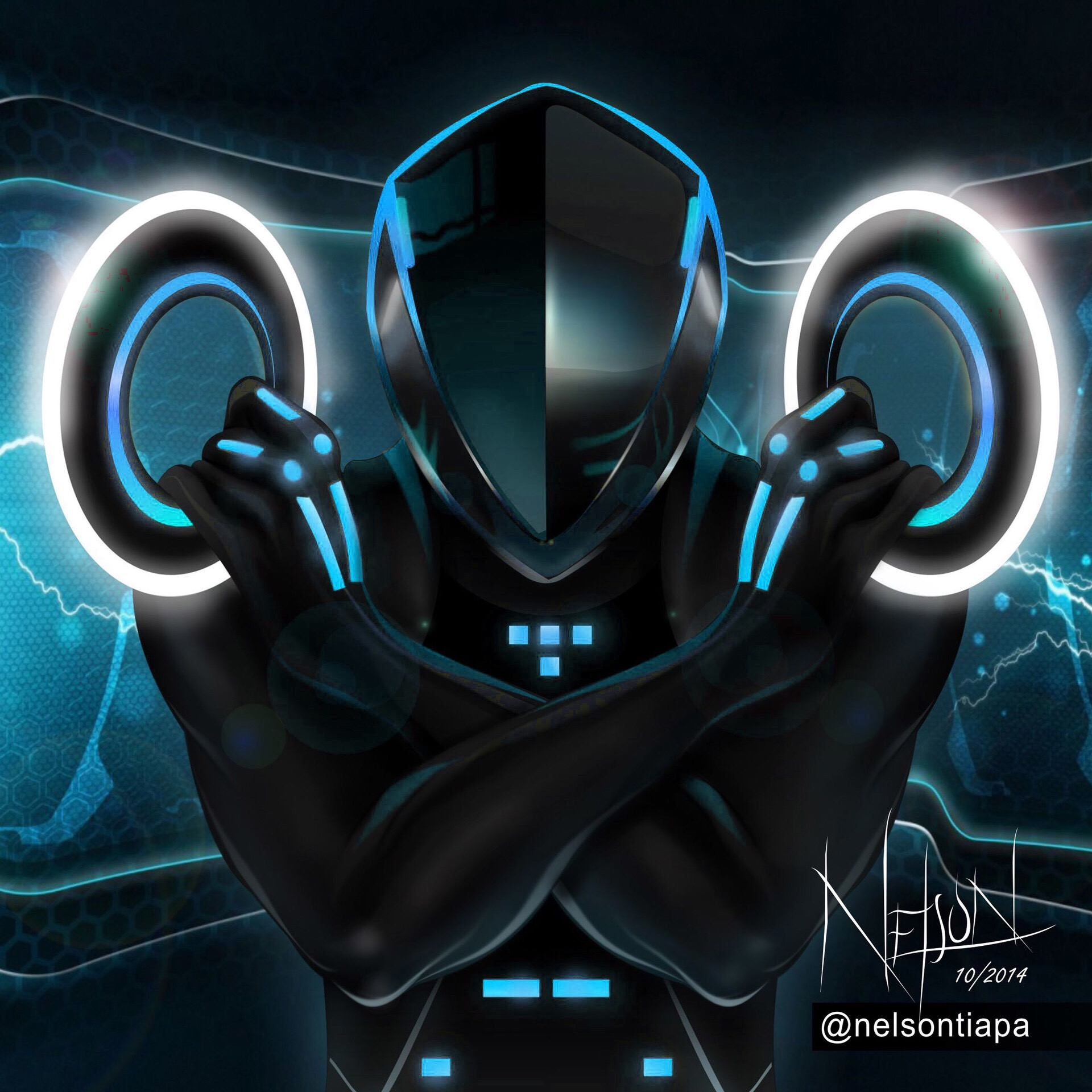 Download Tron Legacy Wallpaper Rinzler PNG