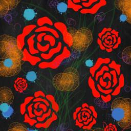 dcdesignapattern designapattern pattern floral fabric freetoedit