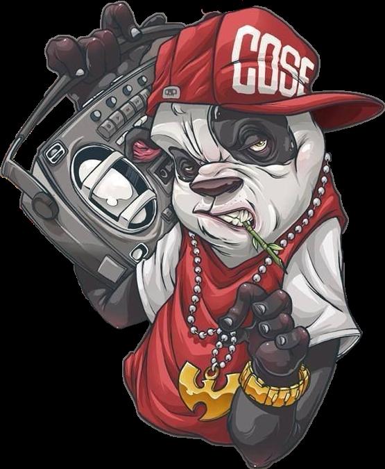 #clogtwo #wutang #panda #ghettoblaster #hiphop #graffity