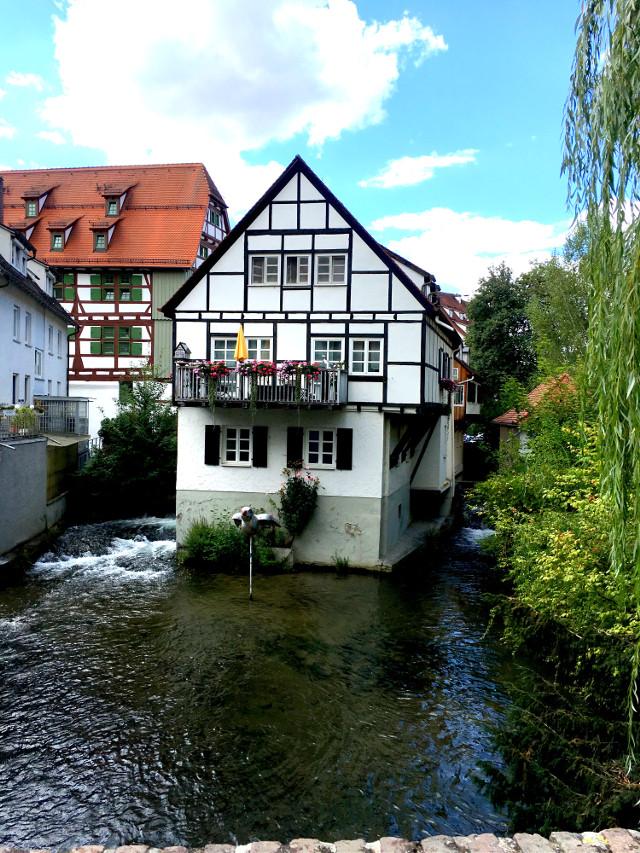 #secretspot #ulm #bayern #germany #water #fishermanvillage #freetoedit