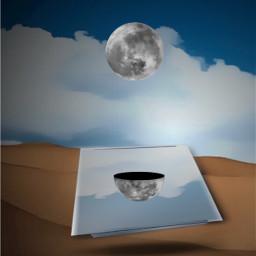 freetoedit moon mirror reflex vignetteeffect