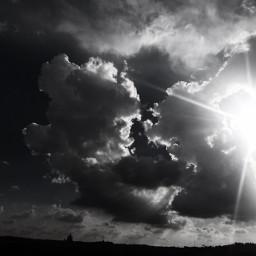 rome sun sky clouds sanpeter sanpietro cupolone blackandwhite myoriginalphoto