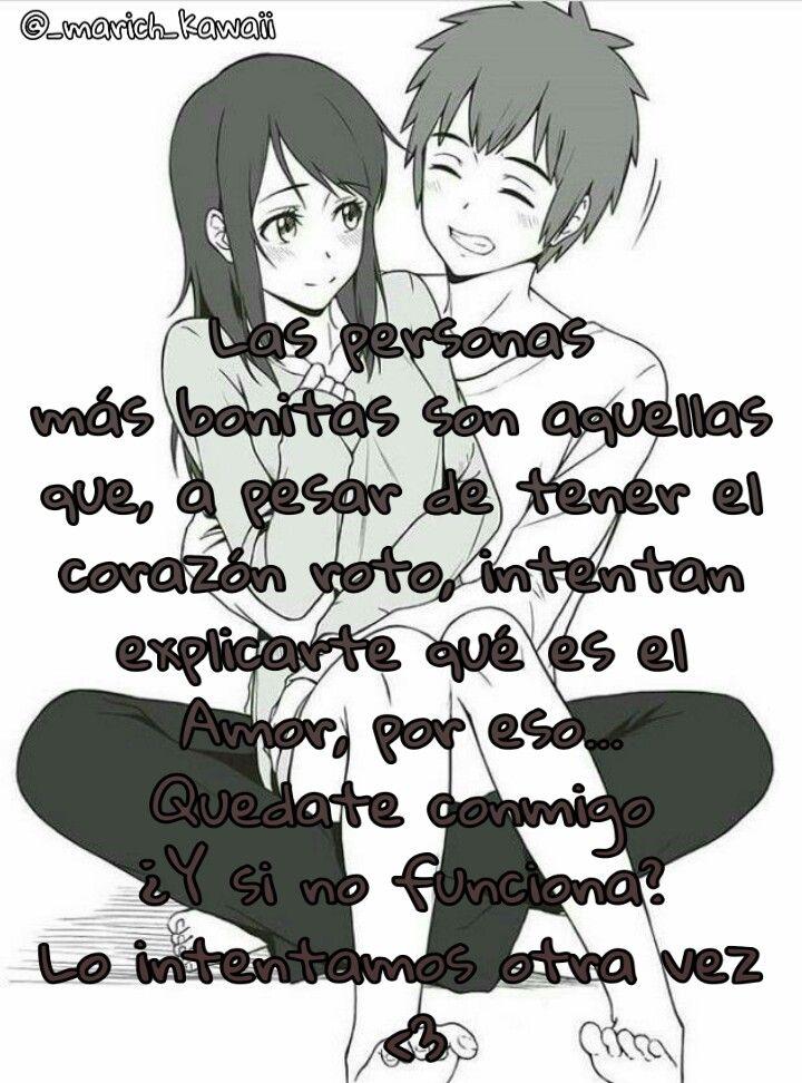 Anime Frases Parejas Amor Image By Maritzadiaz44