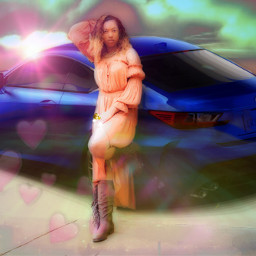 freetoedit lexus popart beautifulgirl