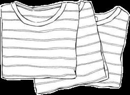 drawing sketch shirt stripes blackandwhite freetoedit