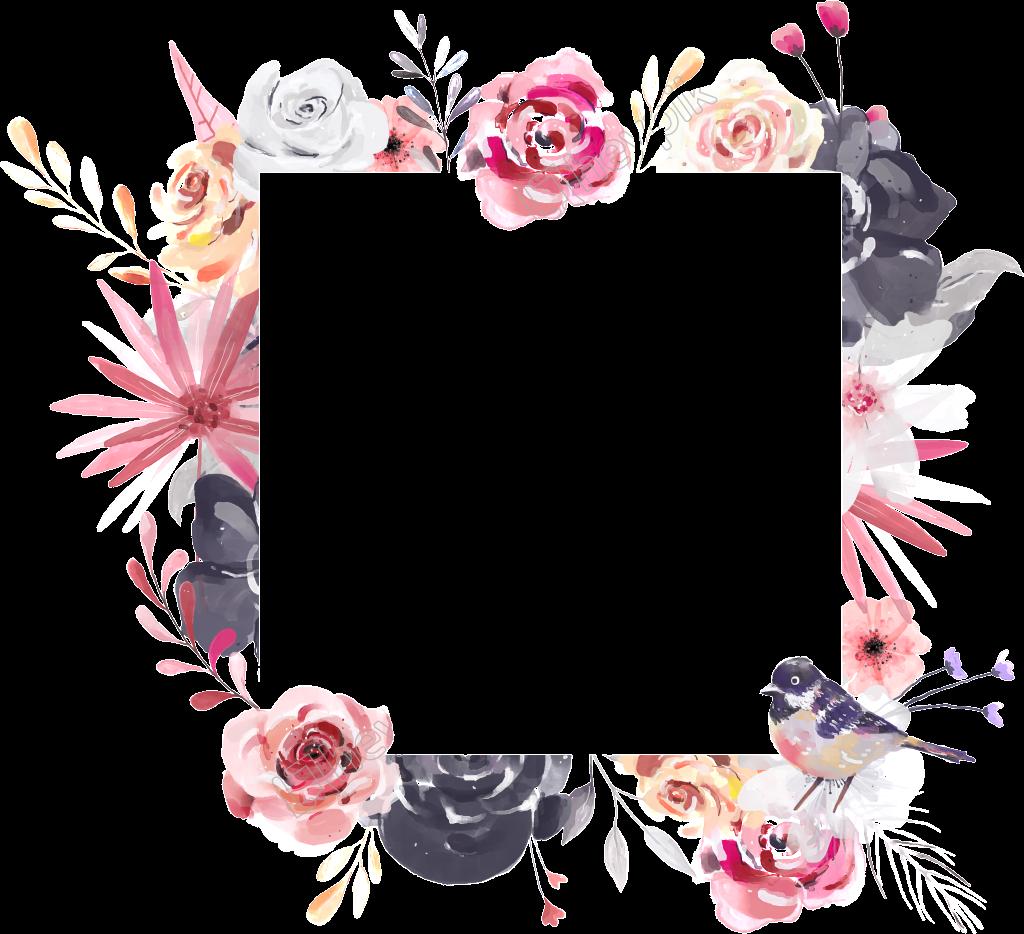 pink square flowers squareflowers