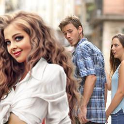 freetoedit ircdistractedboyfriend distractedboyfriend