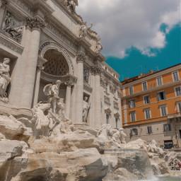 rome roma trevifountain travel italy freetoedit