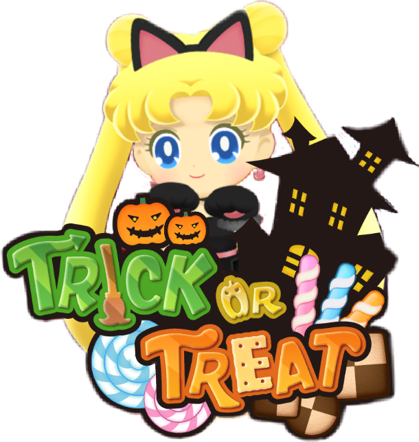 serena usagi blackcatparty halloween sailormoondrops