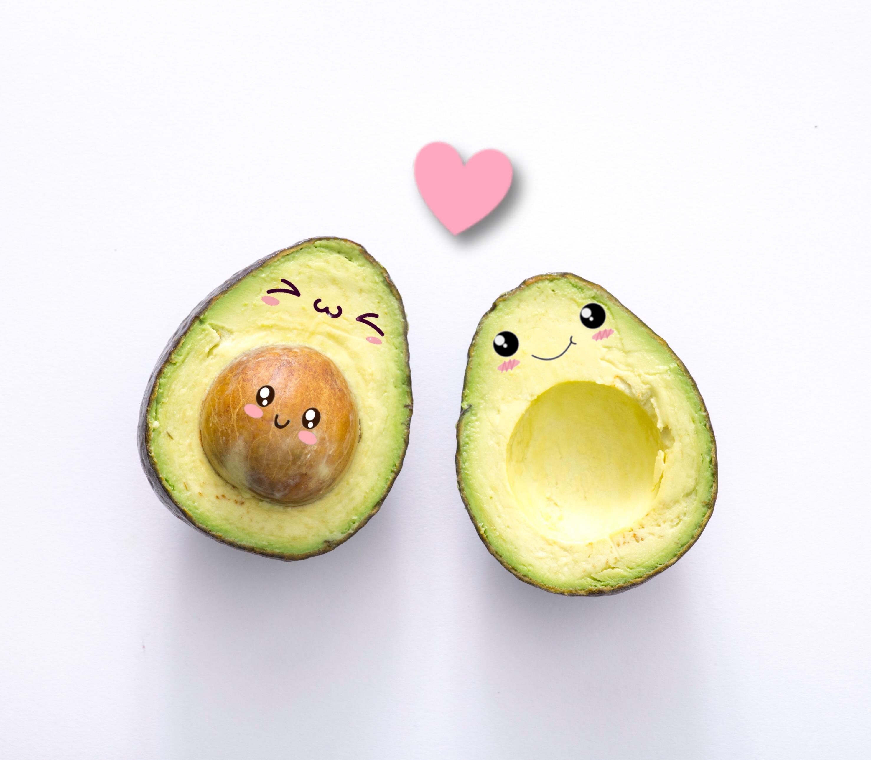 Открытка, прикольные картинки беременности авокадо