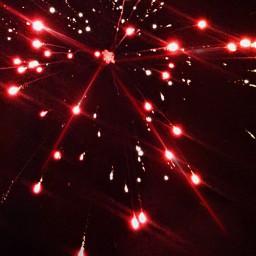 fireworks night sky bright lights