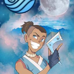 freetoedit avatar avatarthelastairbender sokka water