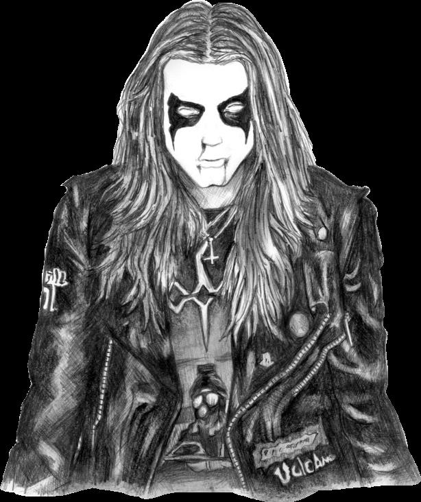 Dead Mayhem Morbid Blackmetal Metal Music Corpsepaint