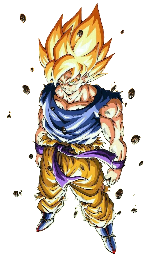 #dbz #goku #supersaiyan #freetoedit