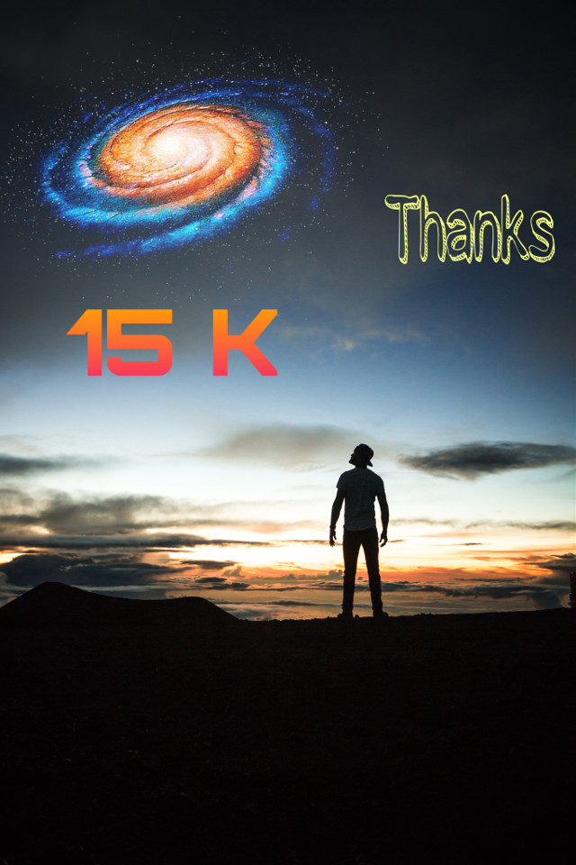 Thanks for 15.000 followers😍🤗  I ❤️ you.  #freetoedit #15kfans #15k