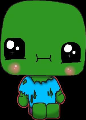 Zombie Kawaii Zombiekawaii Zombie Draw Dibujo