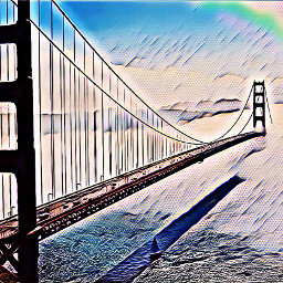bridge starrynights27 picsart rainbow water freetoedit ircbridgeoverwaters