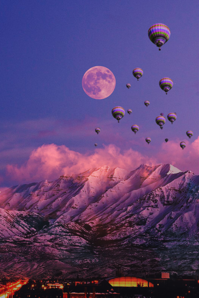 #freetoedit #picsart #dailyremix #dailyremixchallenge #moon #mountain @picsart @freetoedit