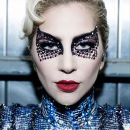 ladygaga face eyes superbowl music fashion makeup freetoedit