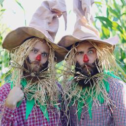 halloween scarecrows fall beards