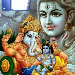 freetoedit god shiva ganesh krishna