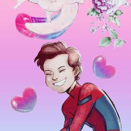 freetoedit spiderman spidermanhomecoming bi bisexual