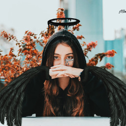 freetoedit grimeart artist girl manipulation