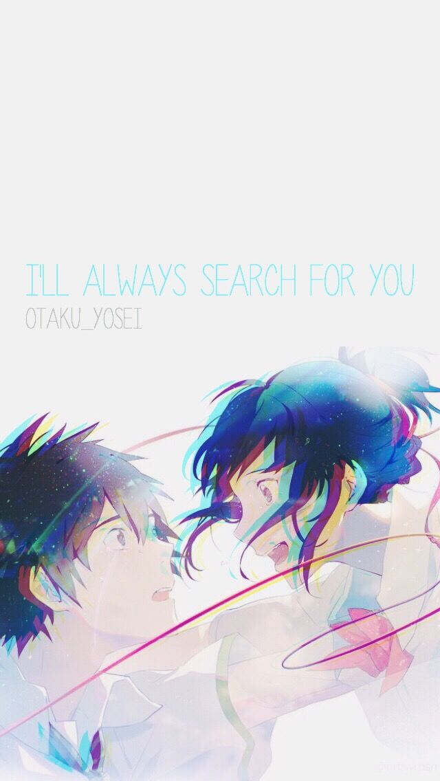 Your Name Wallpaper Yourname Kiminonawa Anime Otaku Wa
