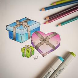 gift just inktober inktober2018 drawing art freetoedit