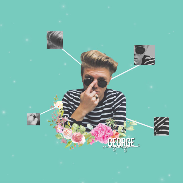 I'm really happy with this 🤗  #freetoedit #georgesmith #newhopeclub #edit