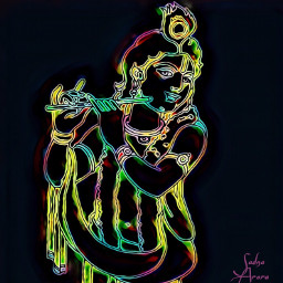 krishna digitalart keshav hari india freetoedit