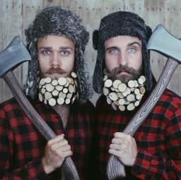 lumberjacks beards
