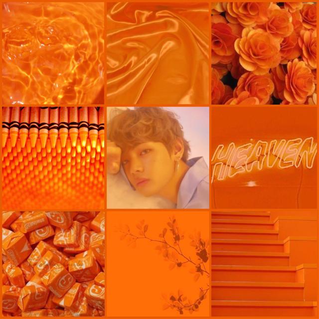 Do you own any BTS merch ☺️ ~ ~ ~ ~ ~ ~ ~ ~ ~ ~ ~ ~ ~ ~ #v #vbts #kimtaehyung #kimtaehyungbts #taehyung #taehyungbts #tae #taetae #bts #btsarmy #army #kpop #idol #idols #aesthetic #orange #darkorange #lightorange #flowers