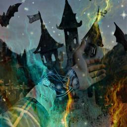 freetoedit holloween scary spooky horror